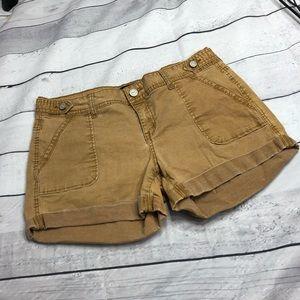 Aeropostale dark khaki shorts